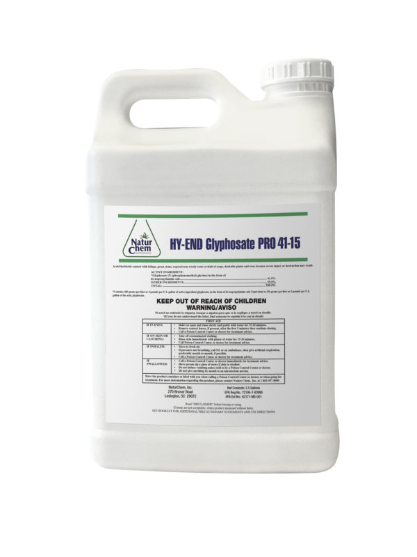 Hy-End Glyphosate Container